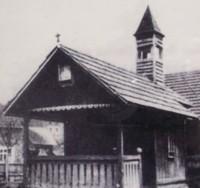 bývala drevená kaplnka