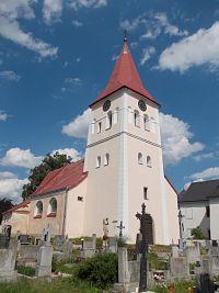 Pluhův Žďár - kostol Narodenia Panny Marie
