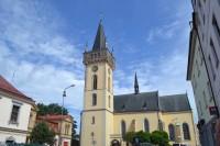 Dvůr Králové nad Labem - kostol sv. Jana Krstiteľa