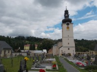 Koclířov - kostol sv. Jakuba Staršieho, apoštola a sv. Filomény
