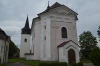 obec Hajnice - kostol a pamiatky v okolí