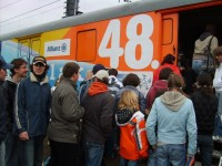 Výstava histórie železnice