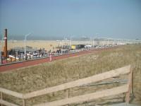 Holandsko - Den Haag -  Scheveningen  pláž a molo De Pier