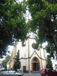 Trutnov - Poříčí - kostol sv. Petra a Pavla
