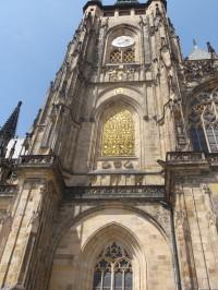 Praha - Veľká južná veža Katedrály sv. Víta, Václava a Vojtěcha