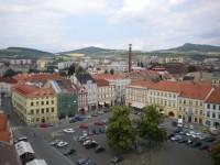 Mírové náměstí v Litoměřicích.