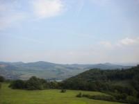 Pohled na Labské údolí.