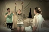 Divadelní představení Ledňáčci - Die Eisvögel