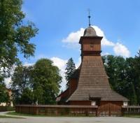 Dřevěný kostel Svaté Kateřiny v Ostravě - Hrabové