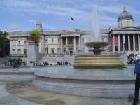 Londýn - Trafalgar Square (Trafalgarské náměstí)