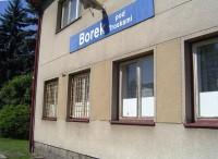 Borek pod Troskami - železniční stanice