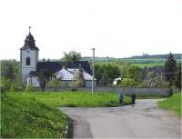 Velká Bystřice-farní kostel Stětí Jana Křtitele-Foto:Ulrych Mir.
