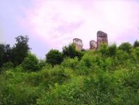 Brníčko-hradní palác od severovýchodu-Foto:Ulrych Mir.