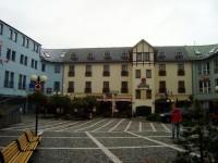 Vrchlabí-Evropské náměstí-hotel Gendorf-Foto:Ulrych Mir.