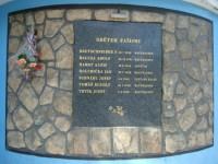 Poděbrady-pamětní deska zahynulých sklářů
