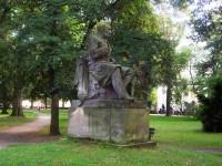 Poděbrady-pomník J. E. Purkyně
