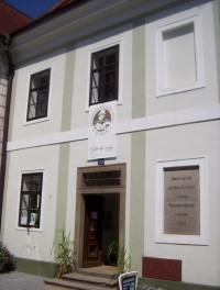 Třeboň-dům Jakuba Krčína z Jelčan u Zámecké brány-Foto:Ulrych Mir.