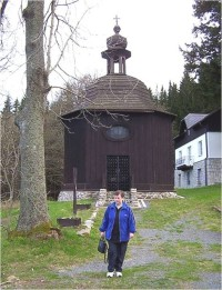 Karlova Studánka-kaple sv. Huberta