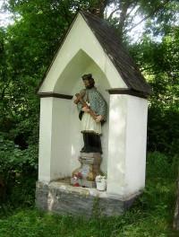 Mnichov-výklenková kaplička se sochou sv. Jana Nepomuckého-Foto:Ulrych Mir.