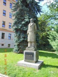 Pomník J. W. GOETHE v Lokti