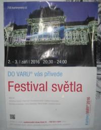 Festival světla - Karlovy Vary