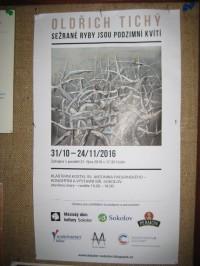 Výstava Oldřicha Tichého: