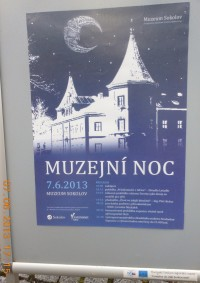 plakát pro muzejní noc...