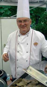Majitel restaurace Miroslav Růžička