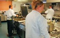Vzhledem ke kapacitě hotelu je kuchařský tým stále v pohotovosti