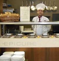Autor gastronomického konceptu a supervizor Pavel Záleský, Chef de cuisine hotelu Meteor Plaza.