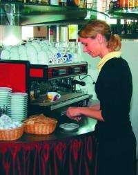 Na dobrou kávu si golfisté potrpí stejně jako na kvalitní gastronomii
