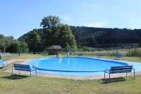 Tišnovské koupaliště - dětský bazén 2014