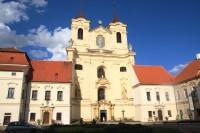 Rajhradský klášter - kostel sv. Petra a Pavla