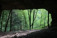 Jeskyně v údolí Haldy