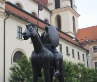 Brno - socha Jošta Lucemburského