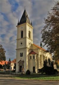 Podolí - kostel sv. Jana Nepomuckého