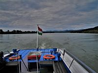 Lodí po Dunaji ze Štúrova na Vyšegrád