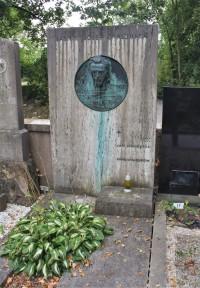 Brno - hrob Josefa Chaloupky