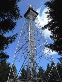 Vysílač s vyhlídkovým ochozem