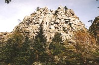 Dráteničky - pohled na hlavní vrchol