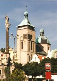 Havlíčkův Brod - kostel Nanebevzetí Panny Marie