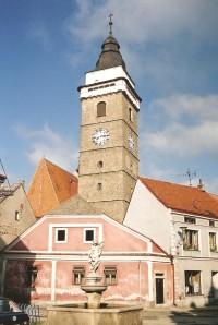 Slavonice - městská vyhlídková věž