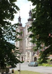 Lomnice - kostel Navštívení Panny Marie
