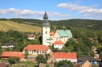 Kurdějov - opevněný kostel sv. Jana Křtitele