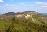 Pavlovské vrchy - pohled na hlavní hřeben - jaro 2010