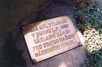 Buchov - základní kámen