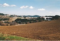Pohled na jižní část Hornoleska