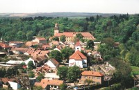 Moravský Krumlov - město