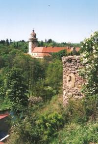 Moravský Krumlov - hradby