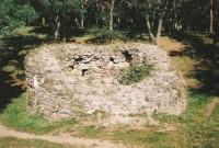 Třebíč - Kruhová bašta na Hrádku